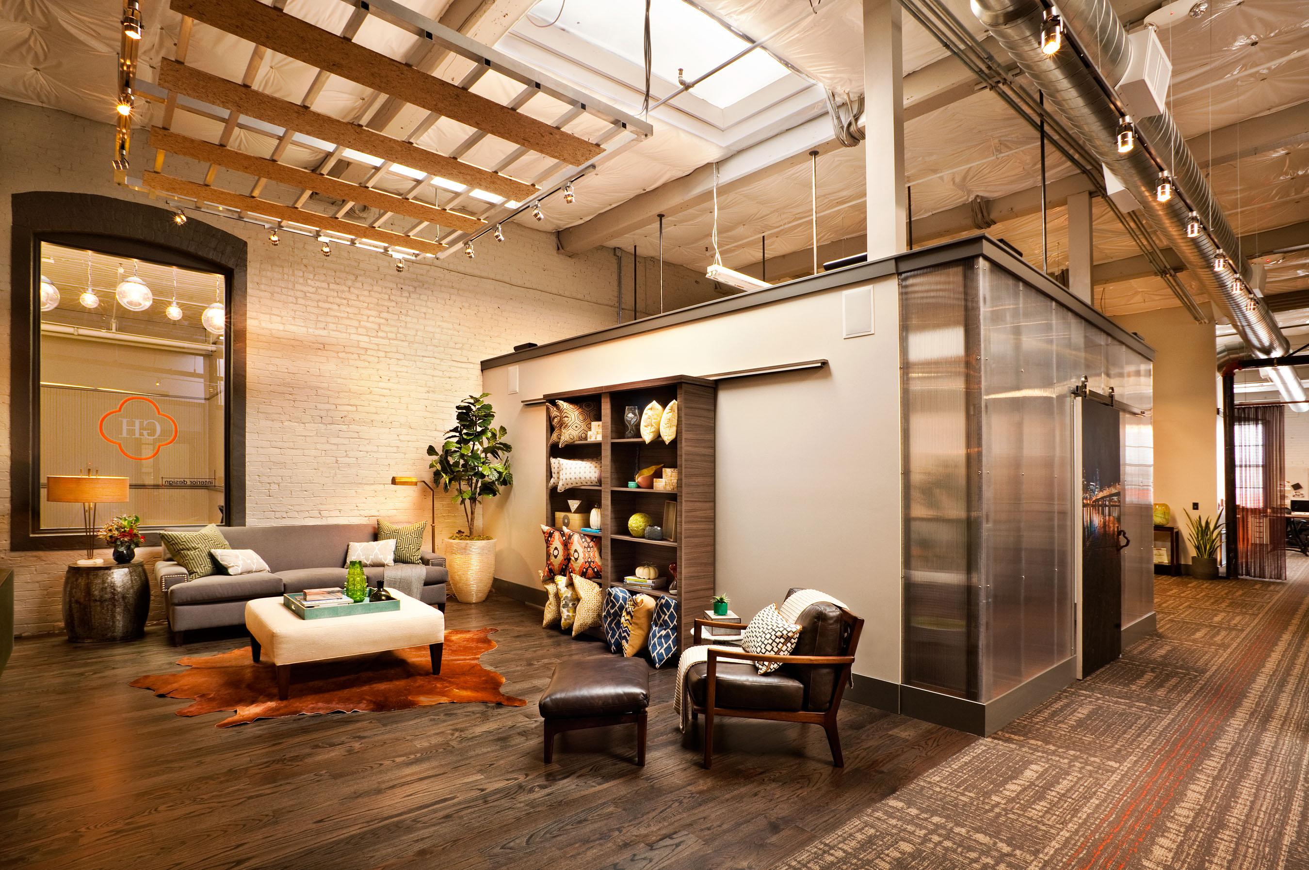 Creative design studio industrial space garrison - Interior design studio ...
