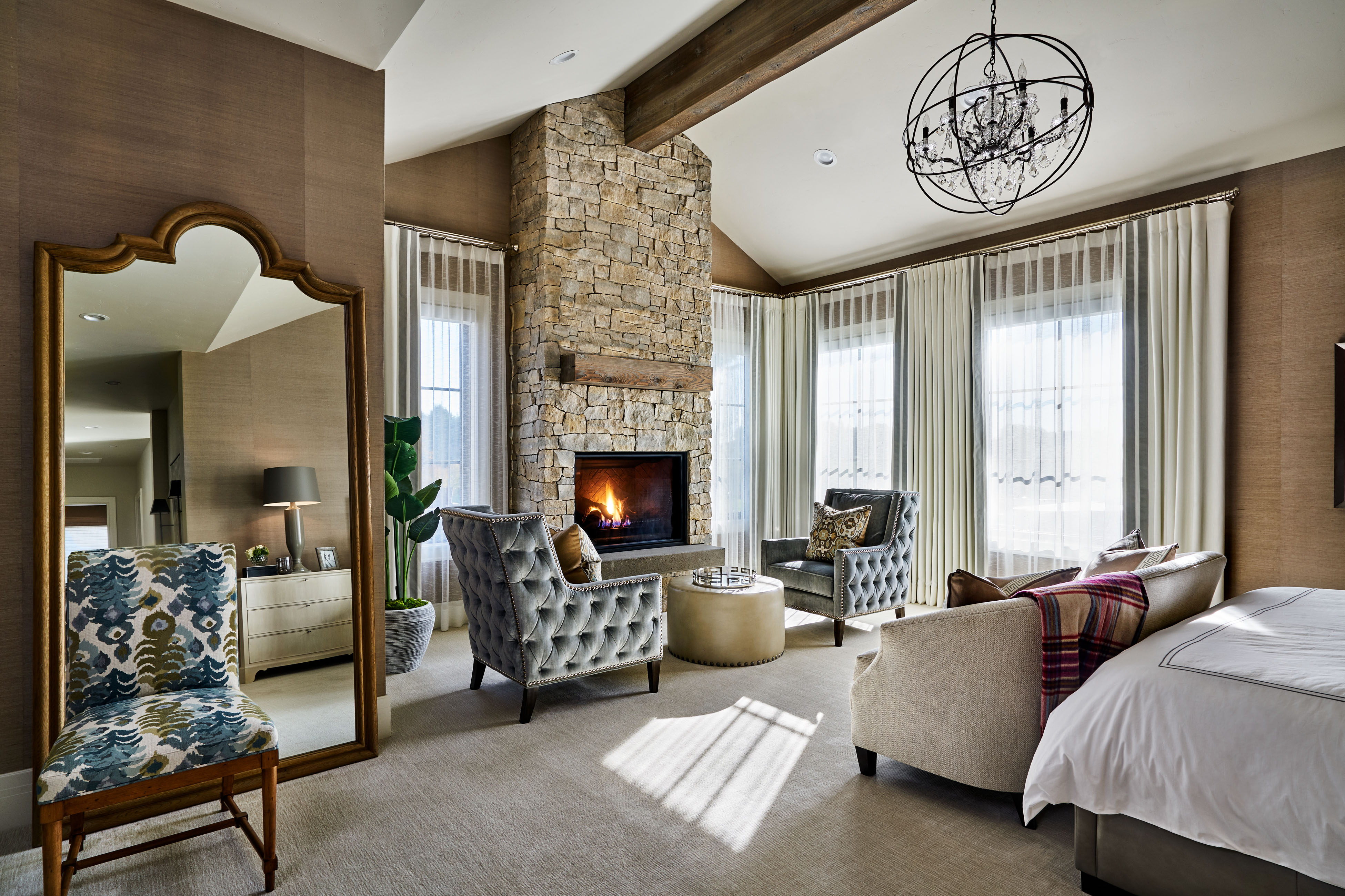 McCormick Creek Farms – Master Bedroom Fireplace – Garrison ...
